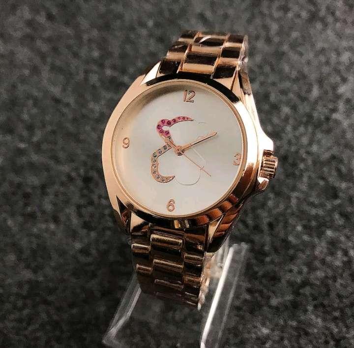 Imagen Acero mujer reloj oro rosa