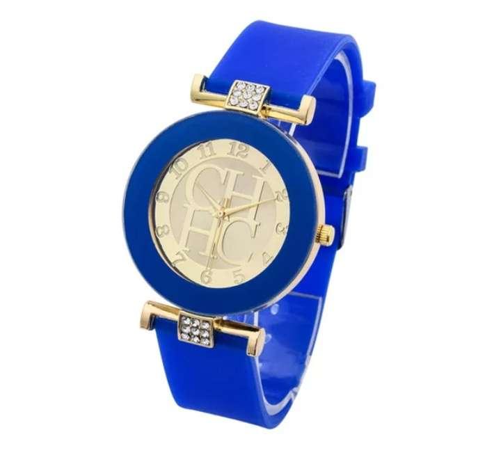Imagen producto Reloj chica estilo CH varios colores 5