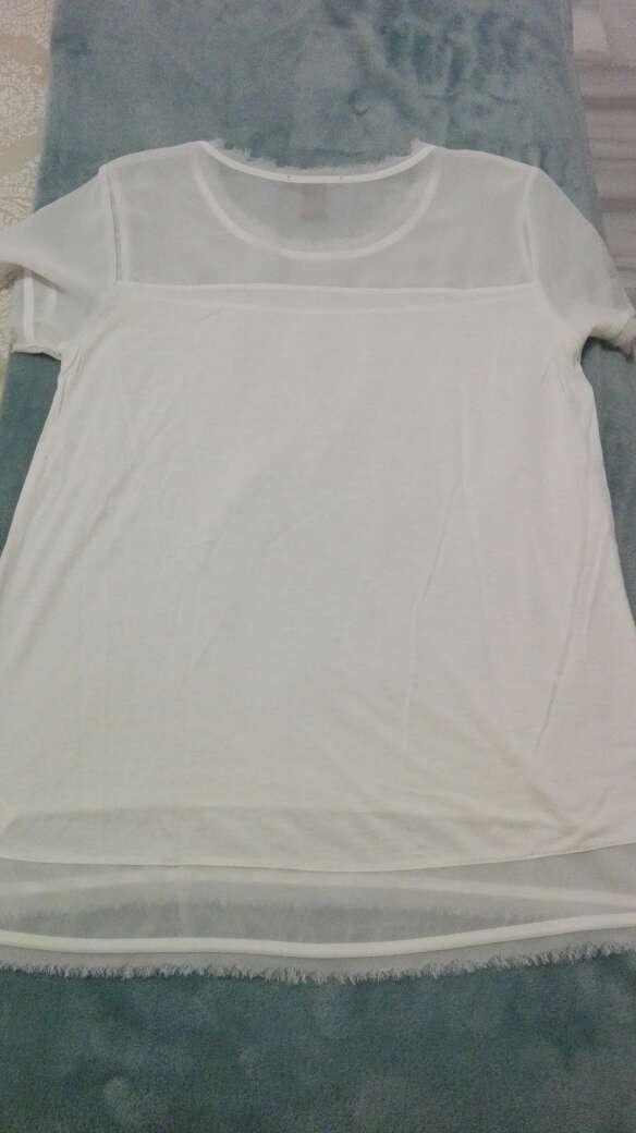 Imagen Camiseta HyM blanca