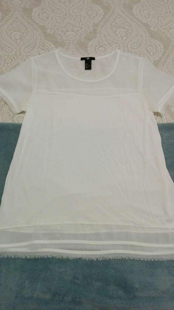 Imagen producto Camiseta HyM blanca 2