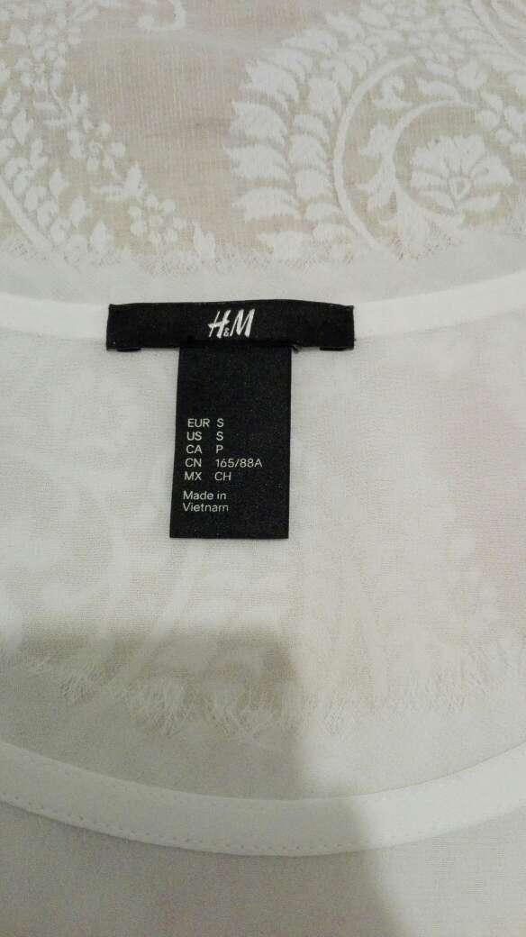 Imagen producto Camiseta HyM blanca 3
