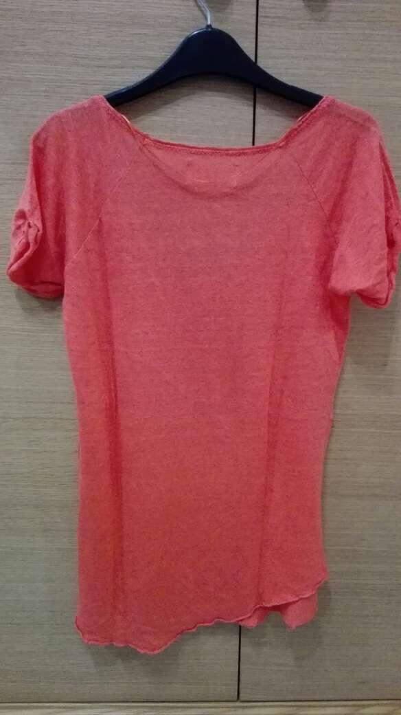 Imagen producto Camiseta Zara Naranja 4