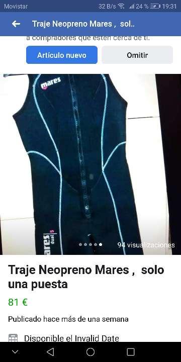 Imagen producto Neopreno Mares 5mm cada pieza tallaM 5