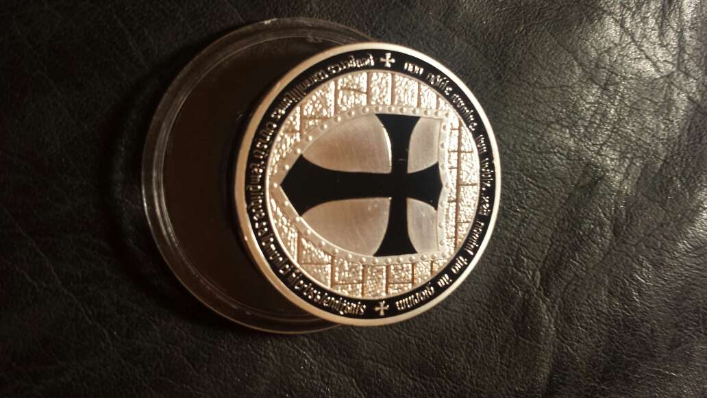 Imagen producto Moneda templarios  1