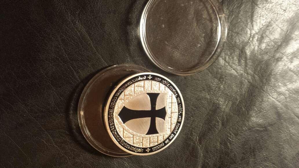 Imagen producto Moneda templarios  2