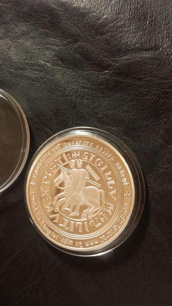 Imagen producto Moneda templarios  3