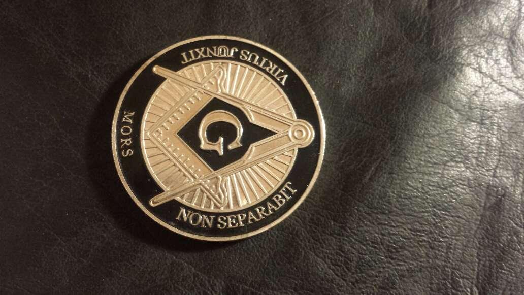 Imagen producto Moneda masonería  2