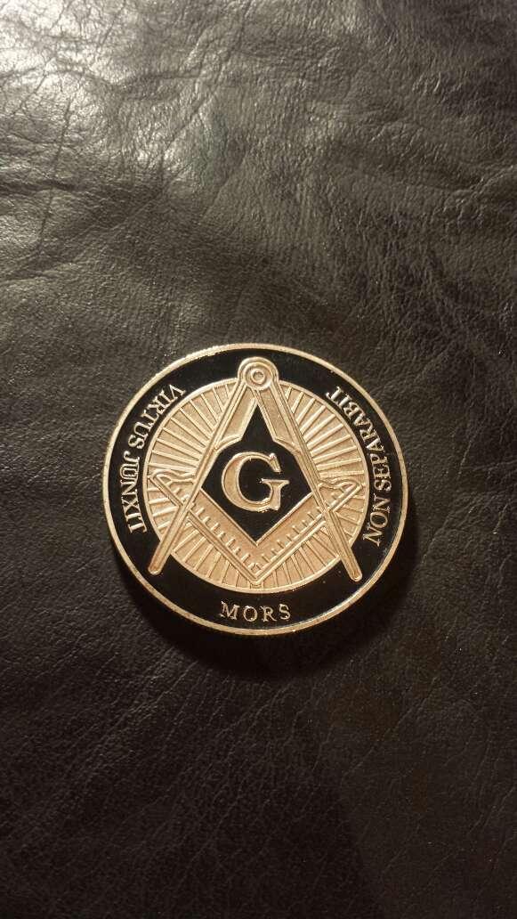 Imagen producto Moneda masonería  3