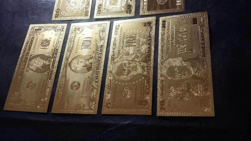 Imagen producto Billetes de dólar de oro  2