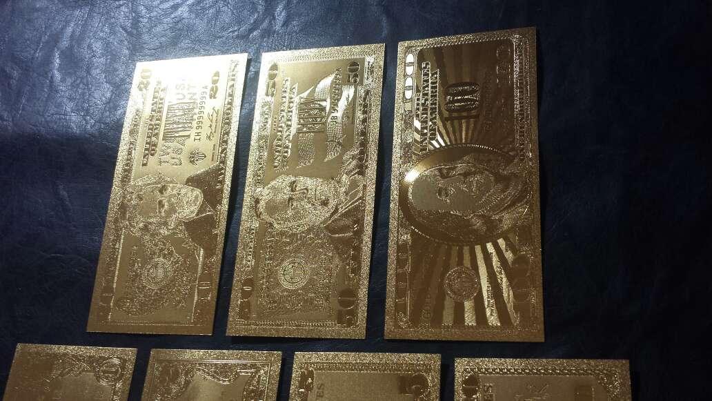 Imagen producto Billetes de dólar de oro  3