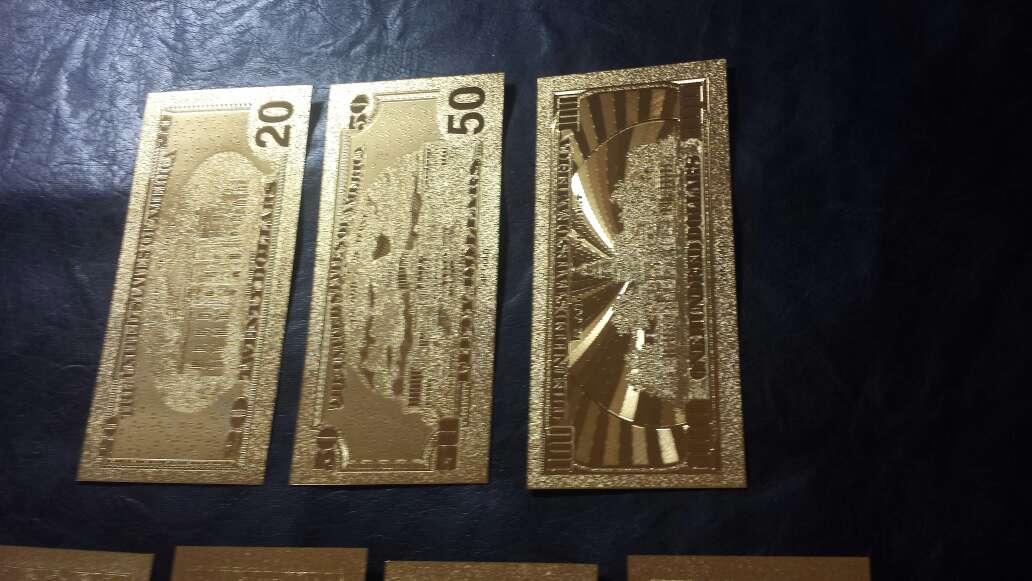 Imagen producto Billetes de dólar de oro  6
