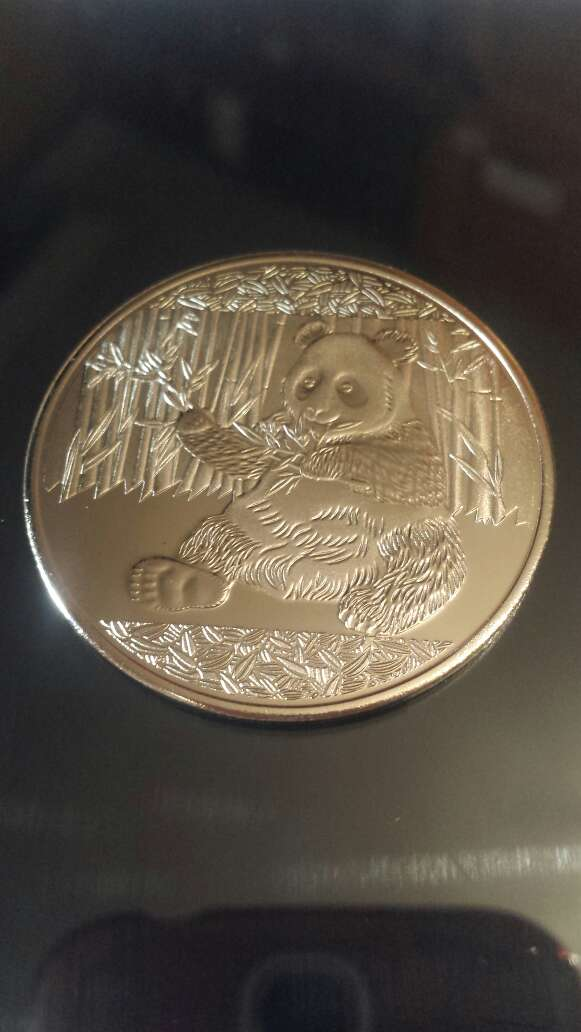 Imagen 1 moneda panda