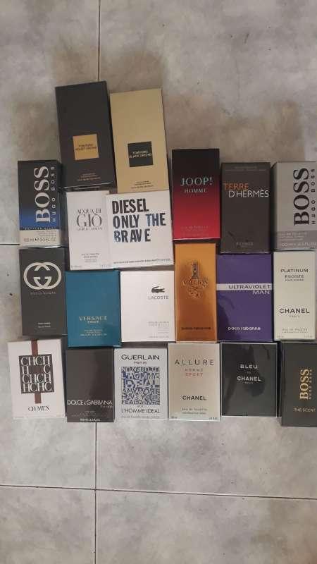 Imagen perfumes caballero 100% originales 40 €