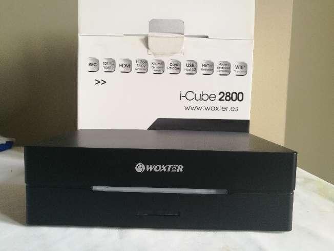 Imagen Woxter i-Cube 2800 con 2TB instalados de HD. Reproductor y grabador multimedia con sintonizador.Todo lo necesario para disfrutar de la Alta Definición en tu hogar.