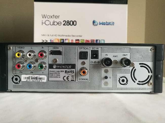 Imagen producto Woxter i-Cube 2800 con 2TB instalados de HD. Reproductor y grabador multimedia con sintonizador.Todo lo necesario para disfrutar de la Alta Definición en tu hogar. 3
