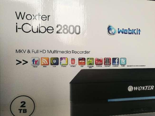 Imagen producto Woxter i-Cube 2800 con 2TB instalados de HD. Reproductor y grabador multimedia con sintonizador.Todo lo necesario para disfrutar de la Alta Definición en tu hogar. 5