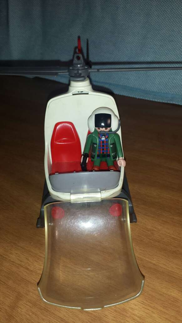 Imagen producto Helicóptero Police playmobil  3