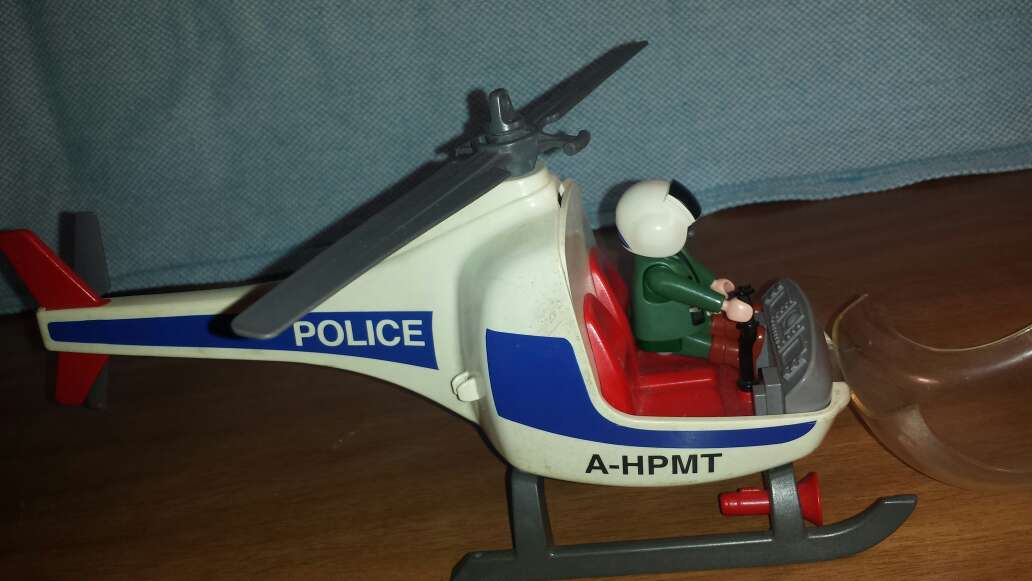 Imagen producto Helicóptero Police playmobil  5