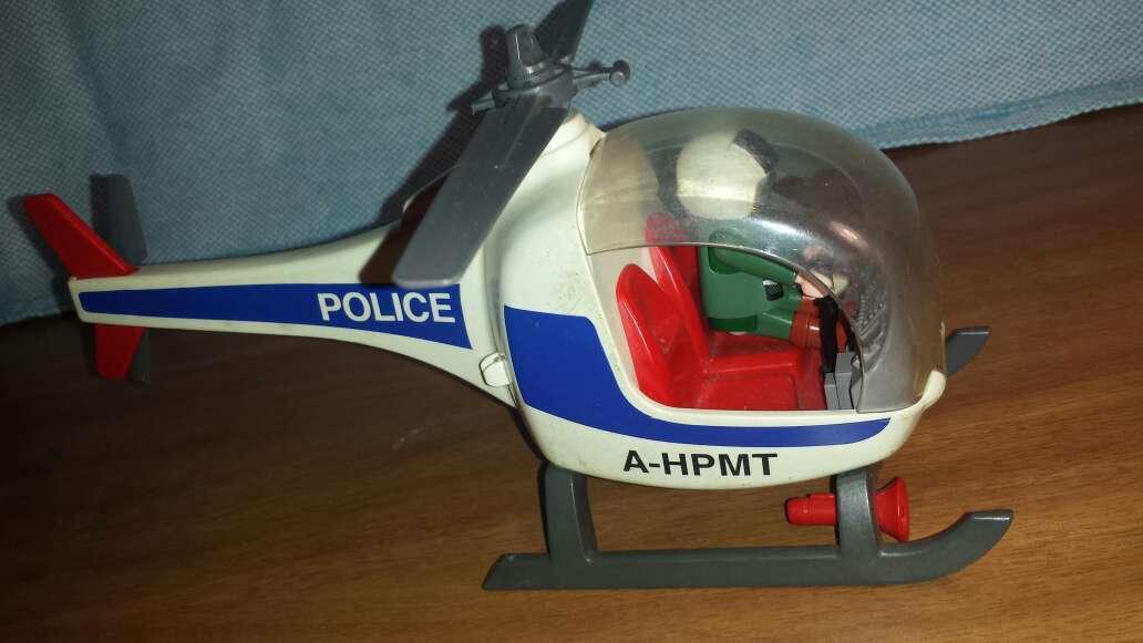 Imagen producto Helicóptero Police playmobil  6