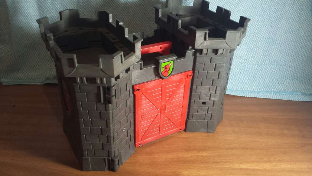 Imagen producto Castillo medieval playmobil completo  1