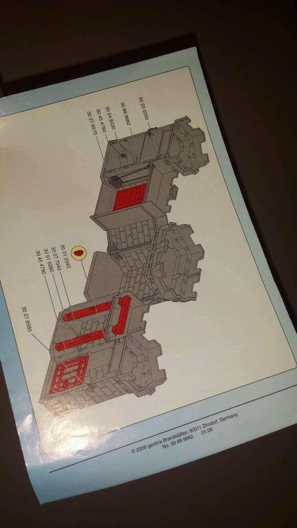 Imagen producto Castillo medieval playmobil completo  9