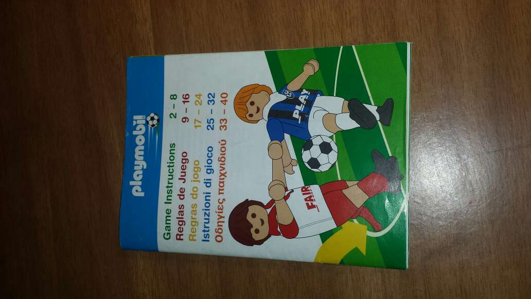 Imagen producto Playmobil fútbol  5