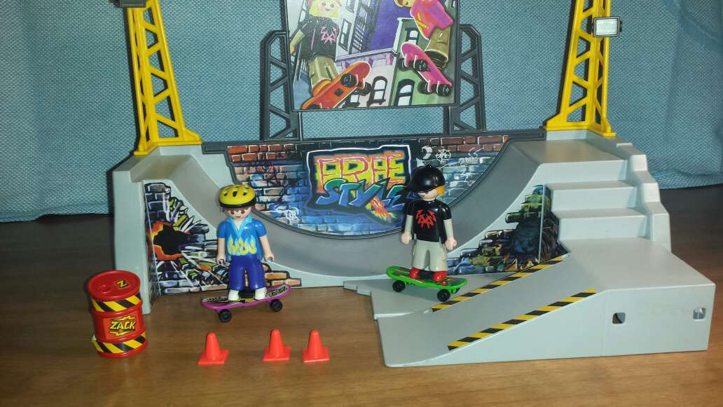 Imagen producto Skate playmobil  3