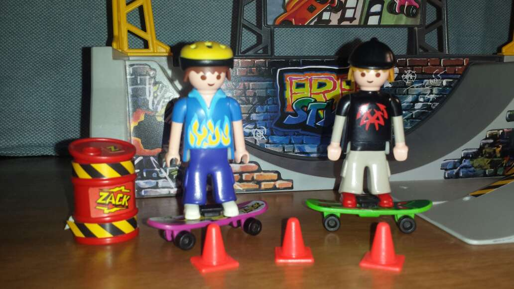 Imagen producto Skate playmobil  4