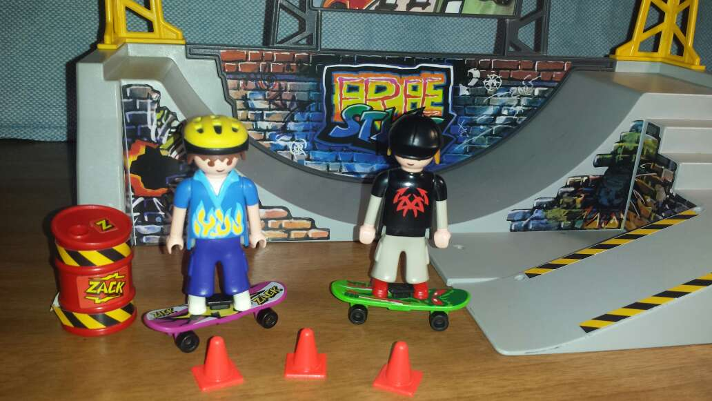Imagen producto Skate playmobil  5