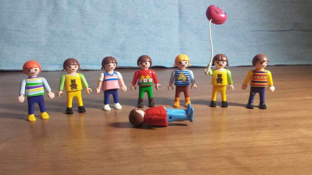 Imagen 7 muñecos playmobil niños