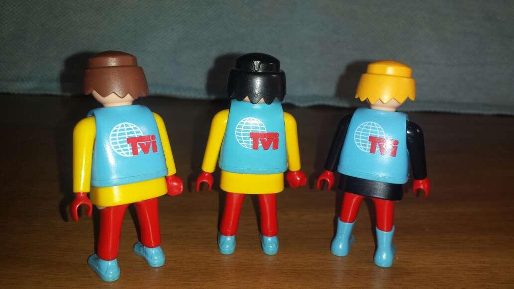 Imagen producto 3 playmobil de la televisión  3