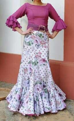 Imagen producto Vestido/ Faldas rocieras 2