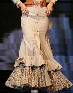 Imagen producto Vestido/ Faldas rocieras 8