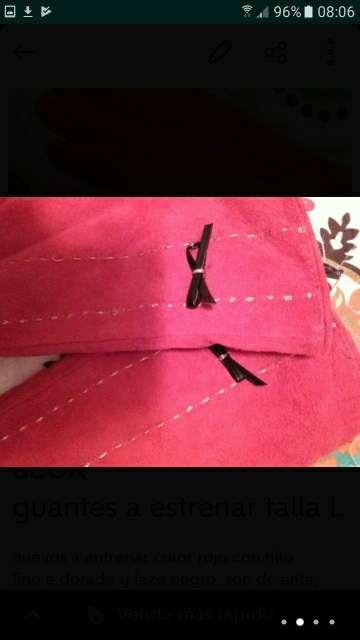 Imagen producto Guantes mujer y neceser regalo 4