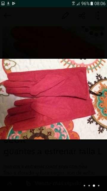Imagen producto Guantes mujer y neceser regalo 2