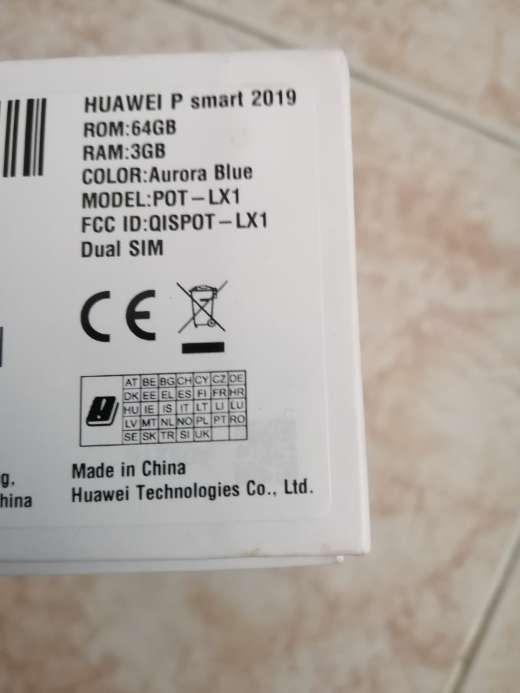 Imagen Huawei p smart 2019 nuevo