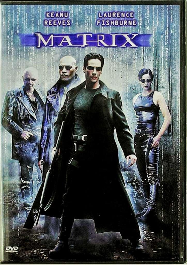 Imagen Película original Matrix en DVD