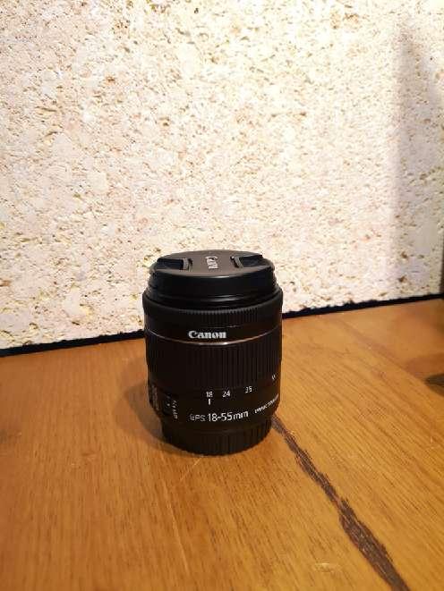 Imagen producto Kit de: Canon eos 800d +funda+ objetivo(18-55) con estabilizador  4