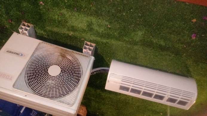 Imagen aire acondicionado. toshiba inverter