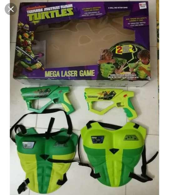 Imagen juego pistola láser tortugas ninja