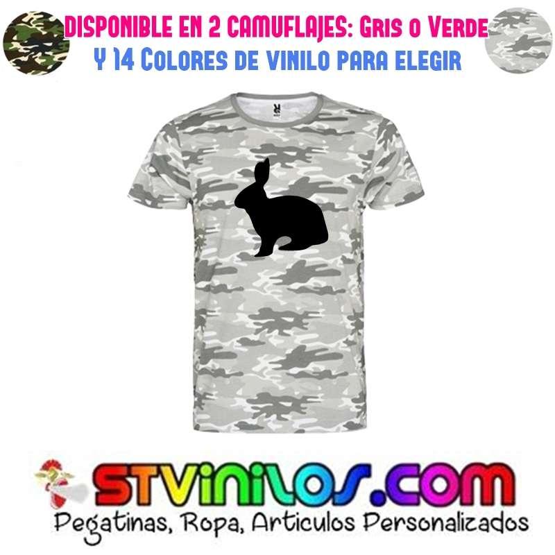 Imagen camiseta caza de conejo