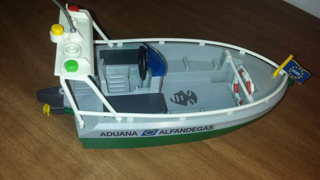 Imagen producto Lancha playmobil aduana  3