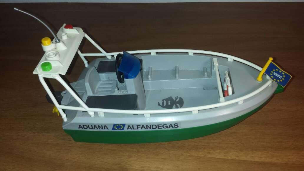 Imagen producto Lancha playmobil aduana  4