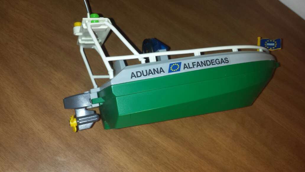 Imagen producto Lancha playmobil aduana  5