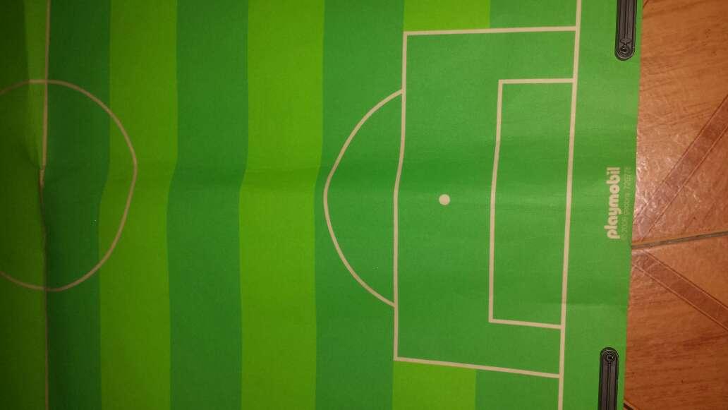 Imagen producto Campo de fútbol playmobil completo  8