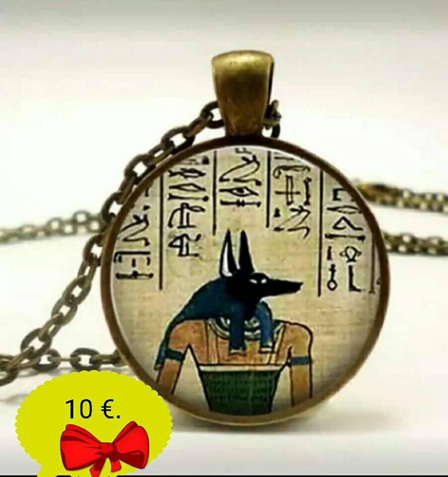 Imagen Colgante Egipcio de Anubis