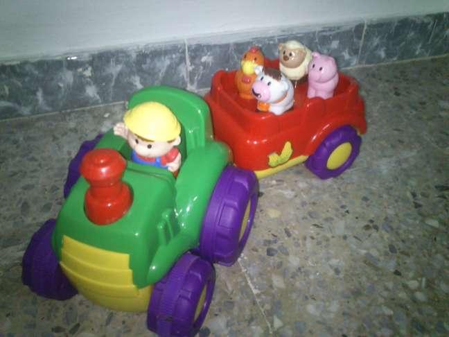 Imagen Tractor Musical. Sonidos y música