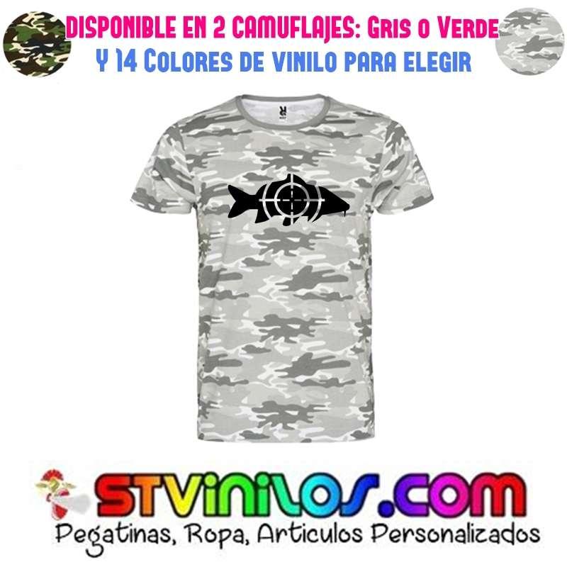Imagen producto Camiseta pesca carpa 1