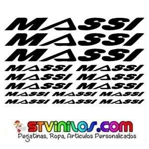 Imagen vinilos Massi para bicicleta