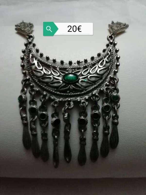 Imagen Espectacular collar de plata marroquí